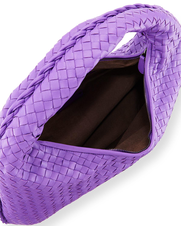 63f497228d Lyst - Bottega Veneta Veneta Large Sac Hobo Bag in Purple