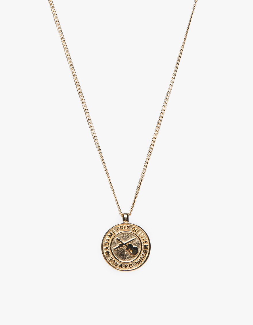 men for jewelry a silver c gallery product p in metallic apc lyst necklace clint normal