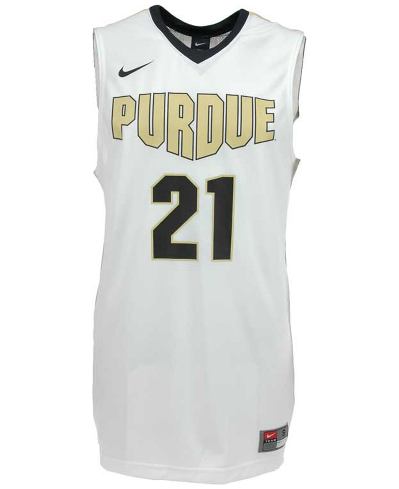 48144cc0e44 Nike Men S Purdue Boilermakers Basketball Jersey in White for Men - Lyst