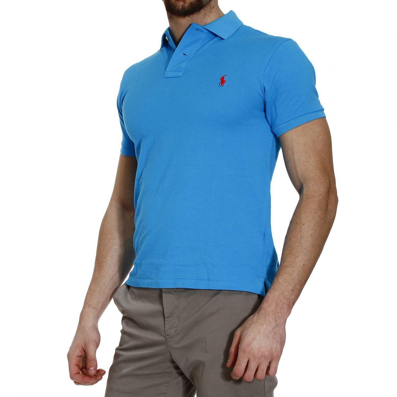 Polo ralph lauren t shirt polo half sleeve nido d 39 ape slim for Full sleeve polo t shirts