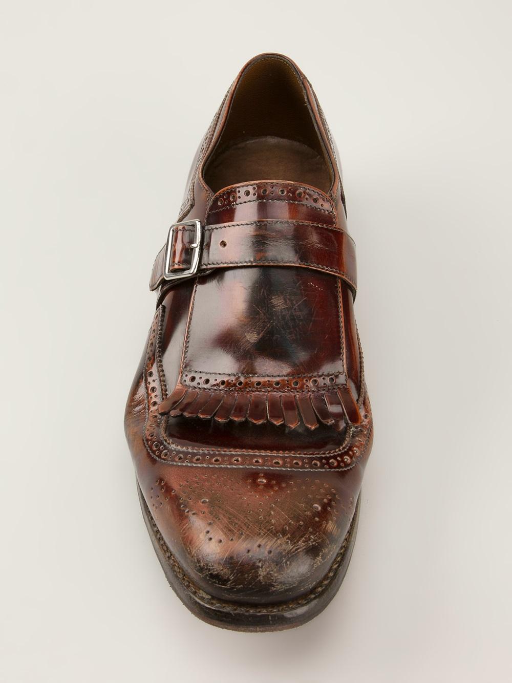 18bca7b11d9 Church s Shanghai Monk Shoes in Brown for Men - Lyst
