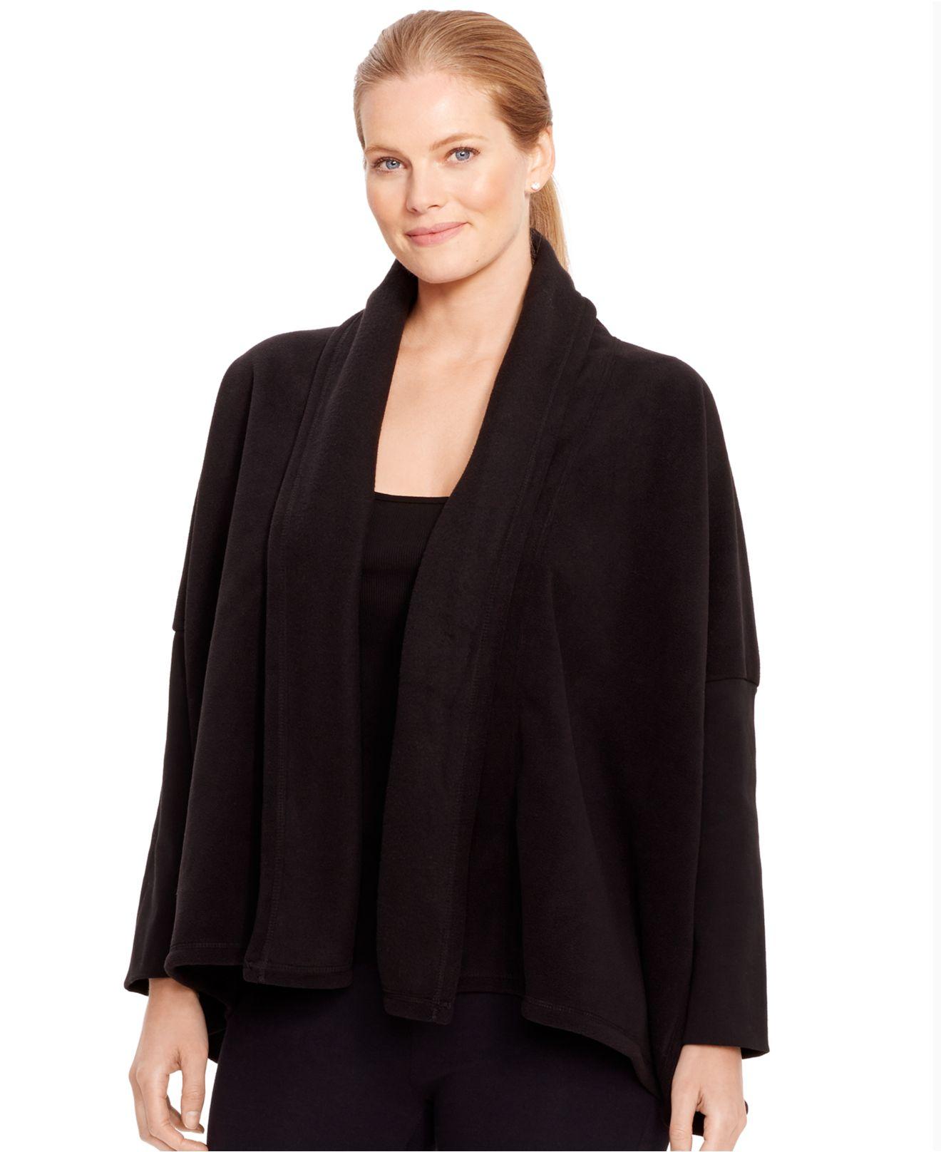 Lauren by ralph lauren Plus Size Open-Front Fleece Cardigan in ...