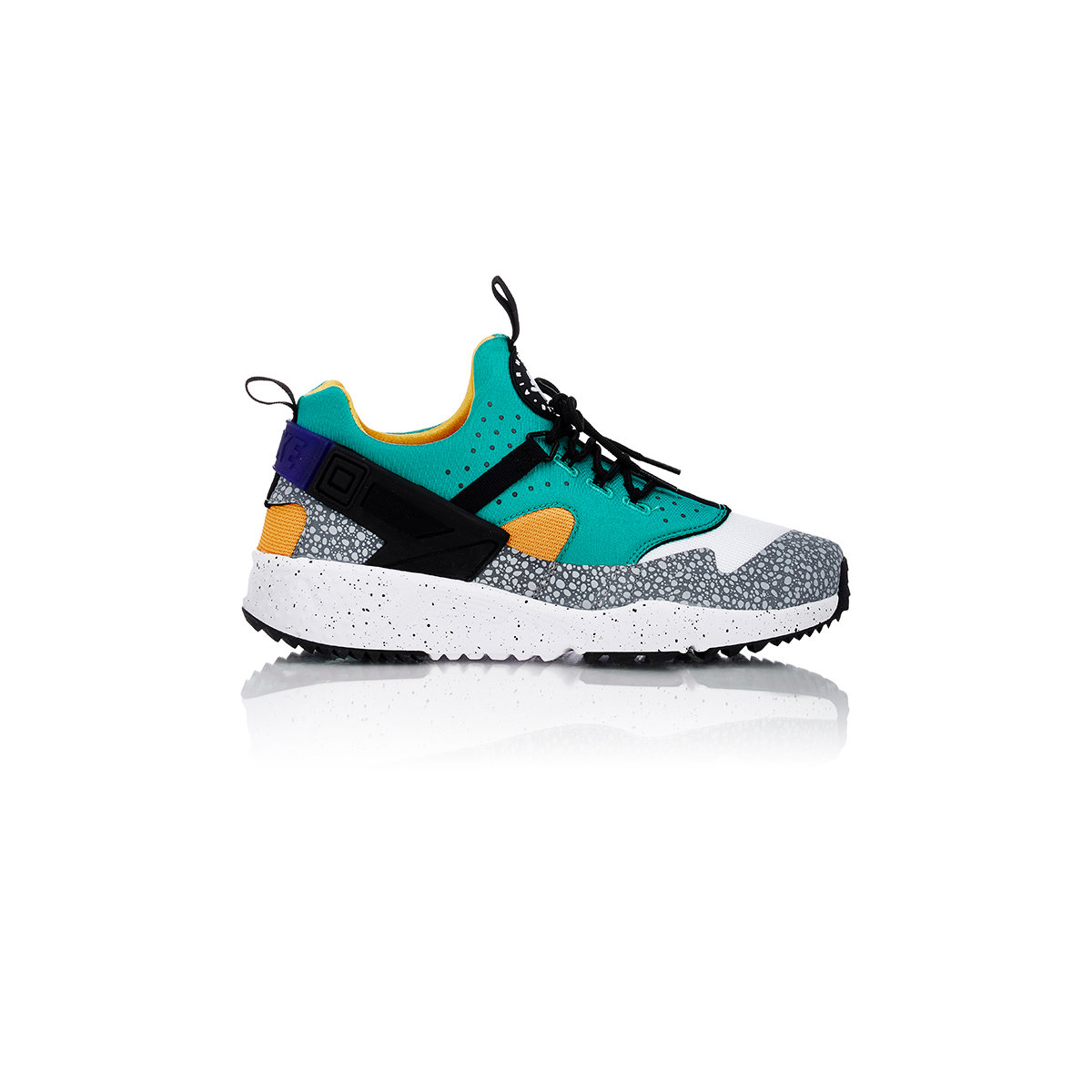 c8b9d43d9eb6 low cost lyst nike air huarache utility premium sneakers in green for men  2b25a 7b068