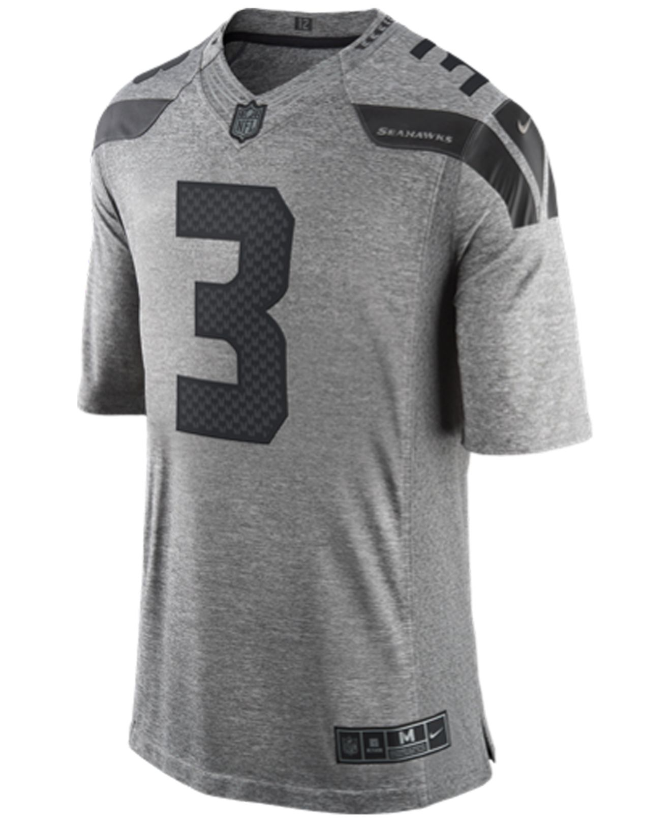 fan mens limited jersey 12 seattle seahawks gridiron gray nike youth game lights out grey super bowl xlix jersey seattle seahawks russell wilson 3