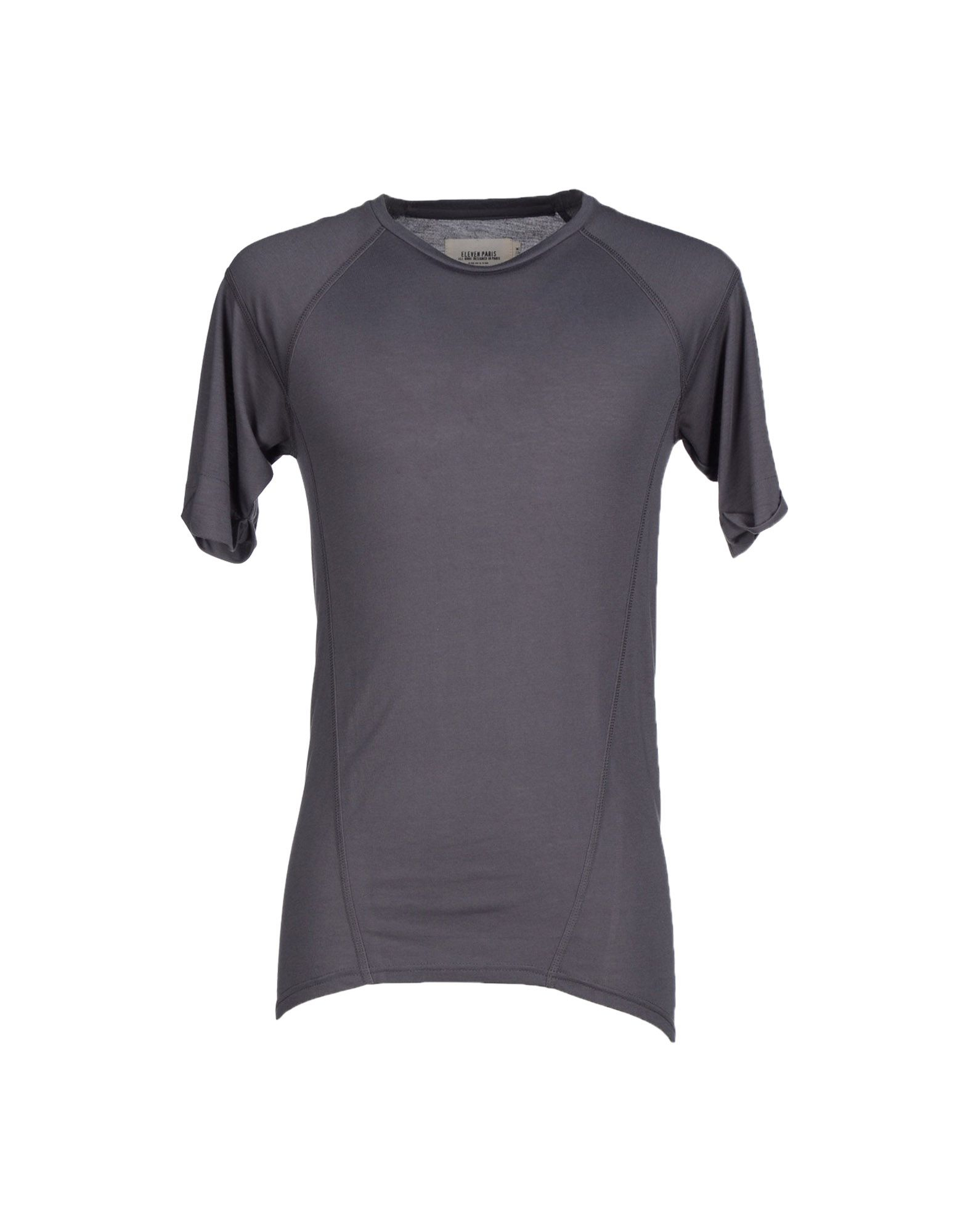 eleven paris t shirt in gray for men lyst. Black Bedroom Furniture Sets. Home Design Ideas