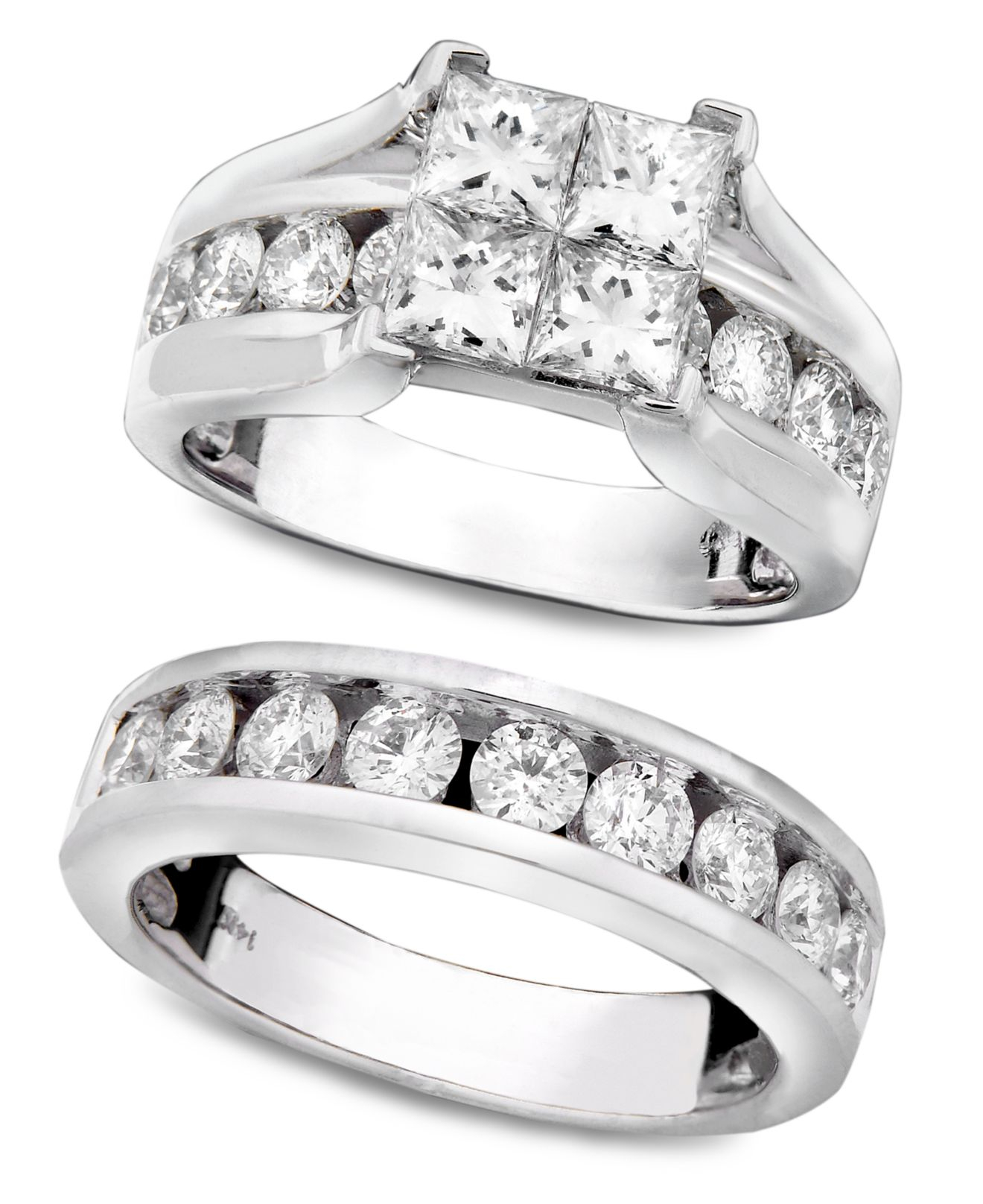quad com w forever wedding of rings silver sterling bride walmart t carat inspirational diamond princess
