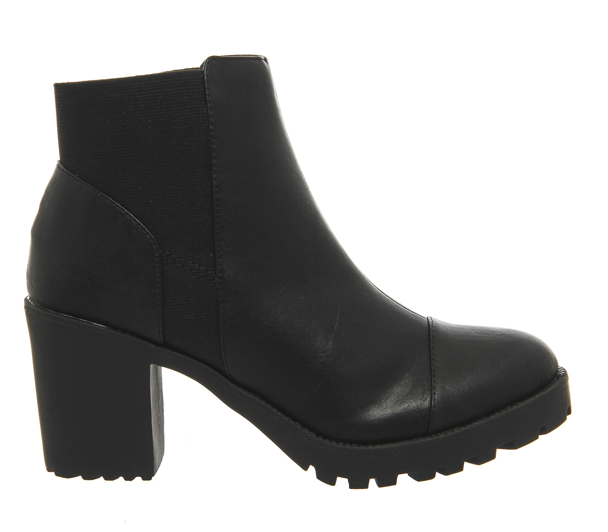 office idol chunky chelsea boots in black lyst
