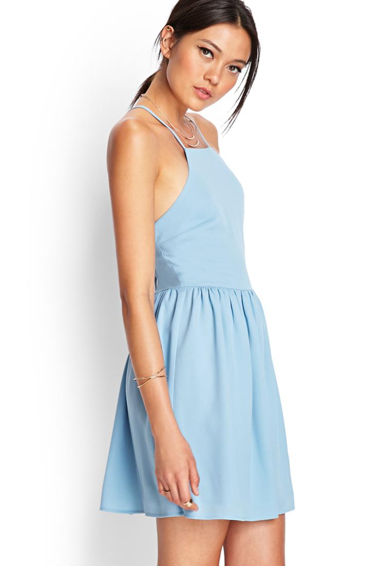 Pastel color dress forever 21
