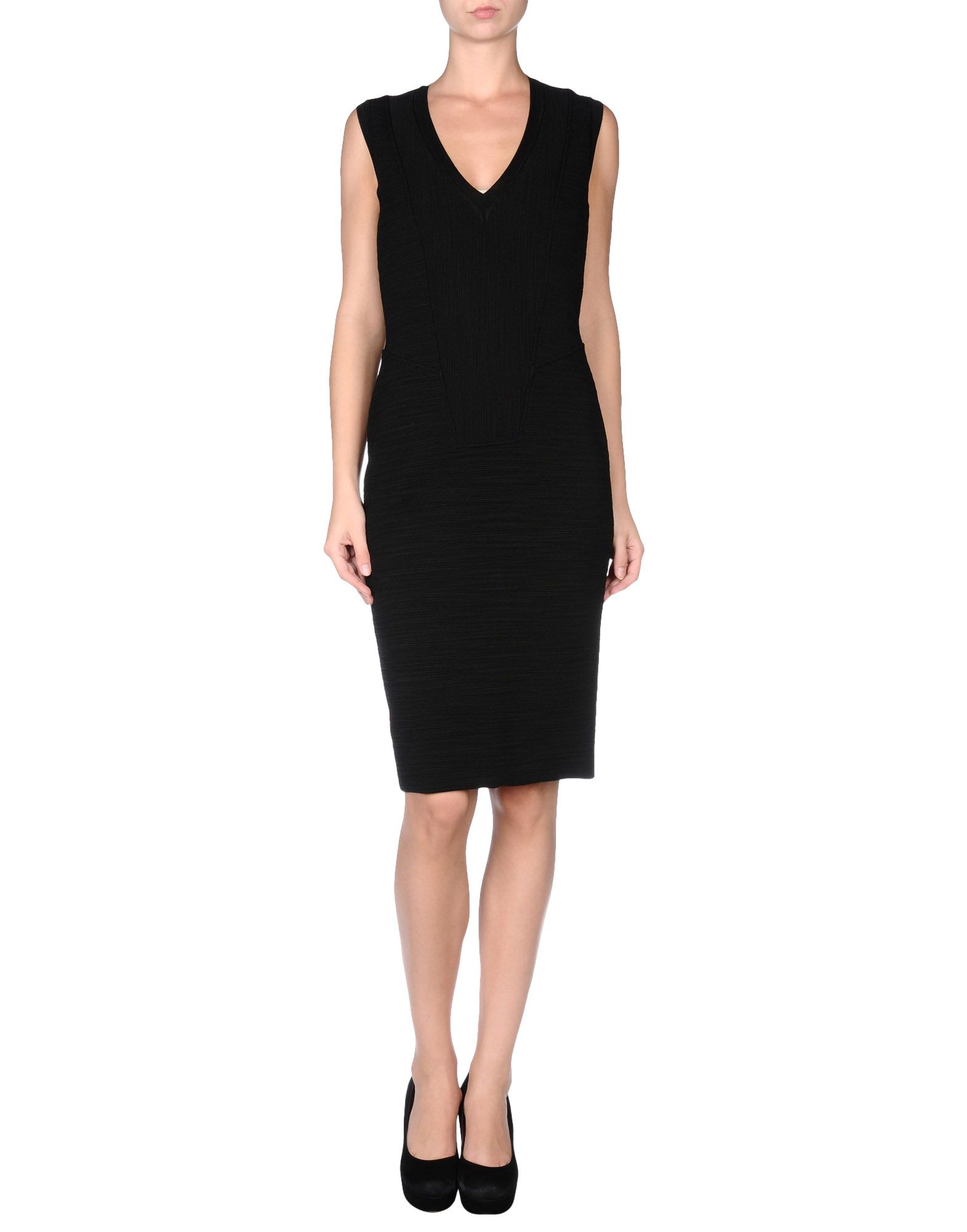 Givenchy black knee length dress casual dresses product 1 25463487 0