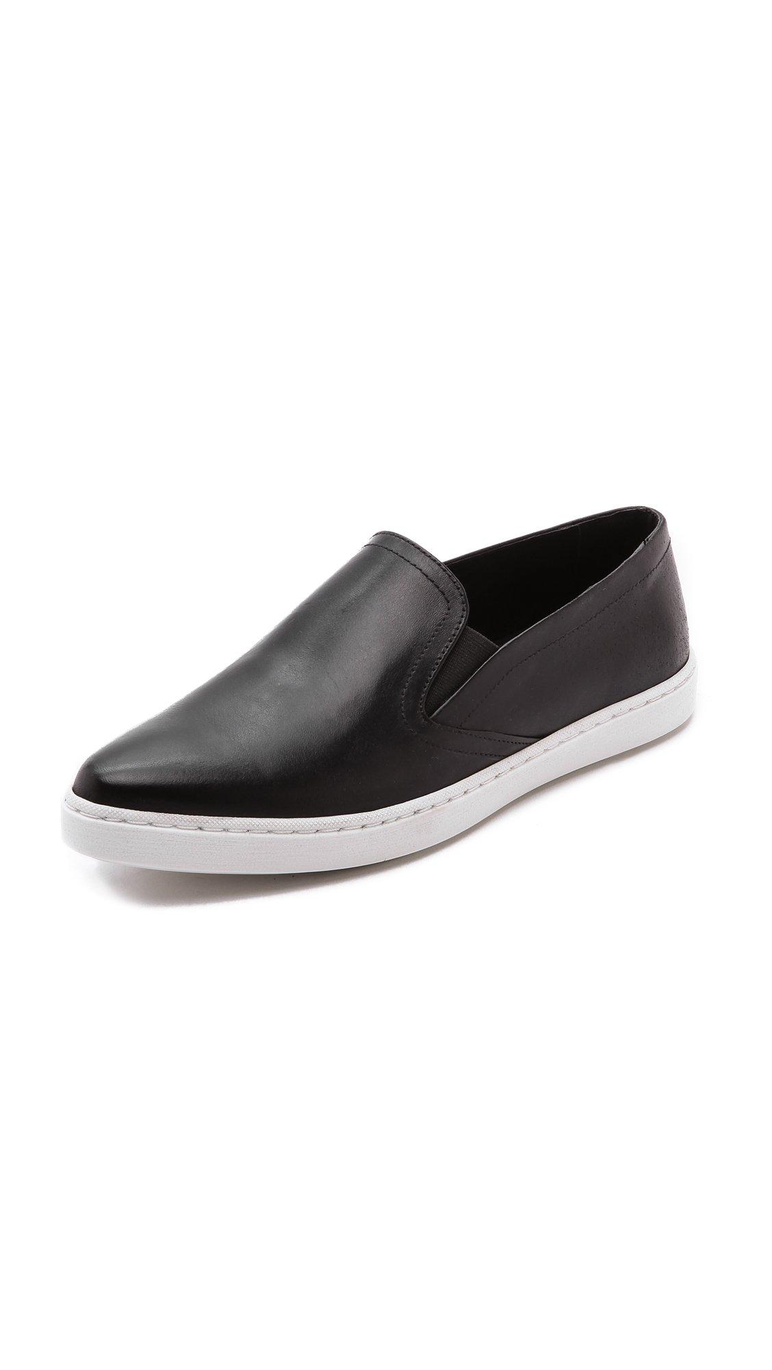 Lyst Iro Karda Pointy Toe Slip On Sneakers Black In Black