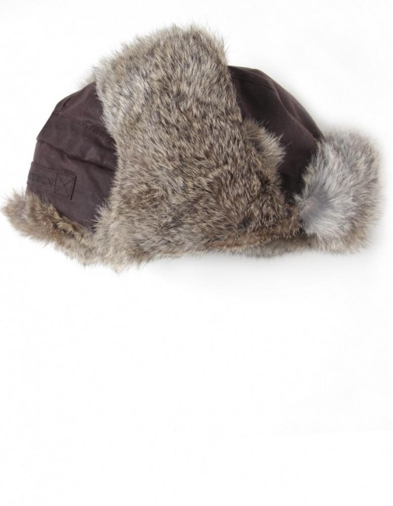 6d0c034312b Lyst - Stetson Boulder Fur Trapper Hat in Brown