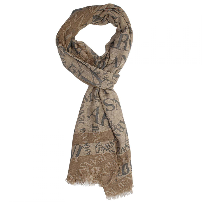 armani scarf in lyst