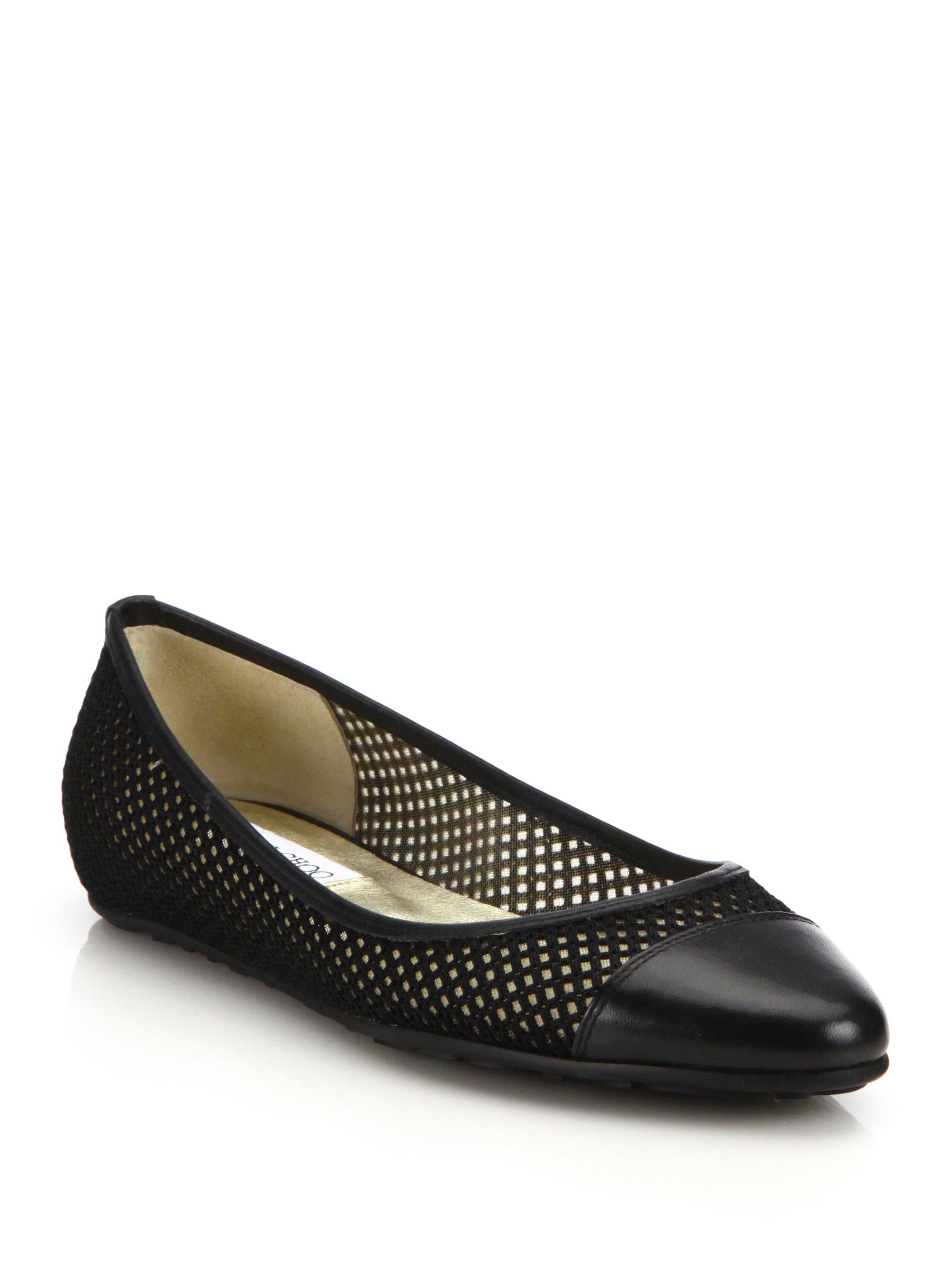 09fd27762e ... spain pre owned black patent leather ballet flats jimmy choo london  675dd b94c0