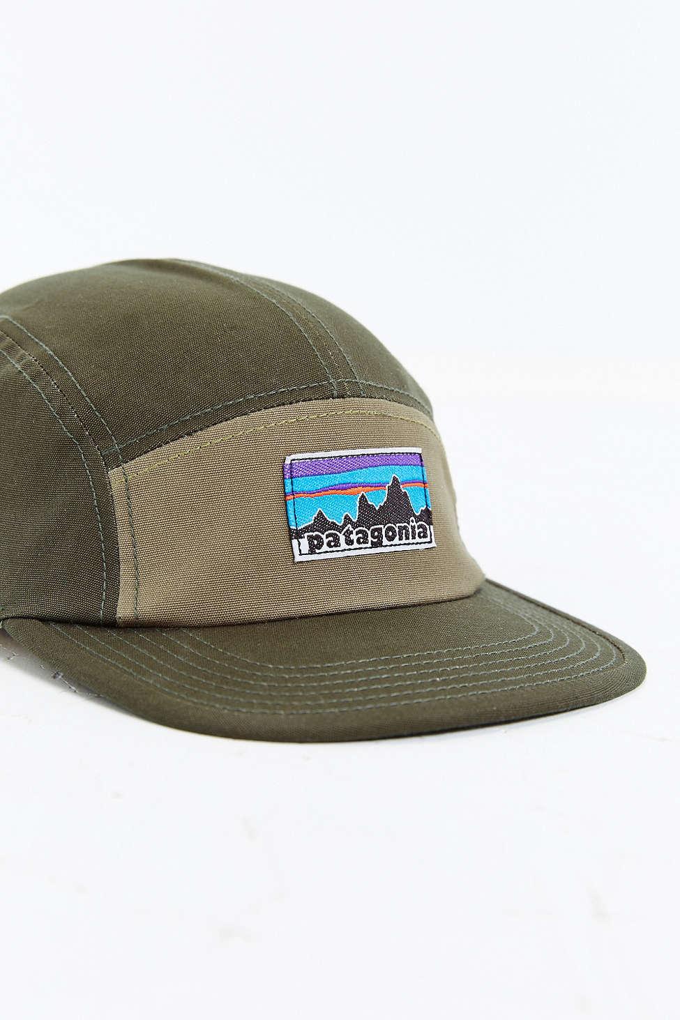 2a1f5311b725d Patagonia Retro Fitz Roy Label 5-panel Baseball Hat for Men - Lyst