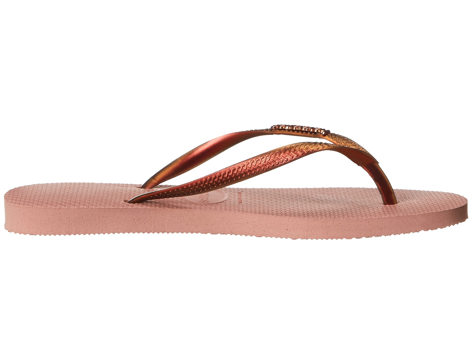 5668e0b2d Lyst - Havaianas Slim Furta Cor Flip Flops in Pink