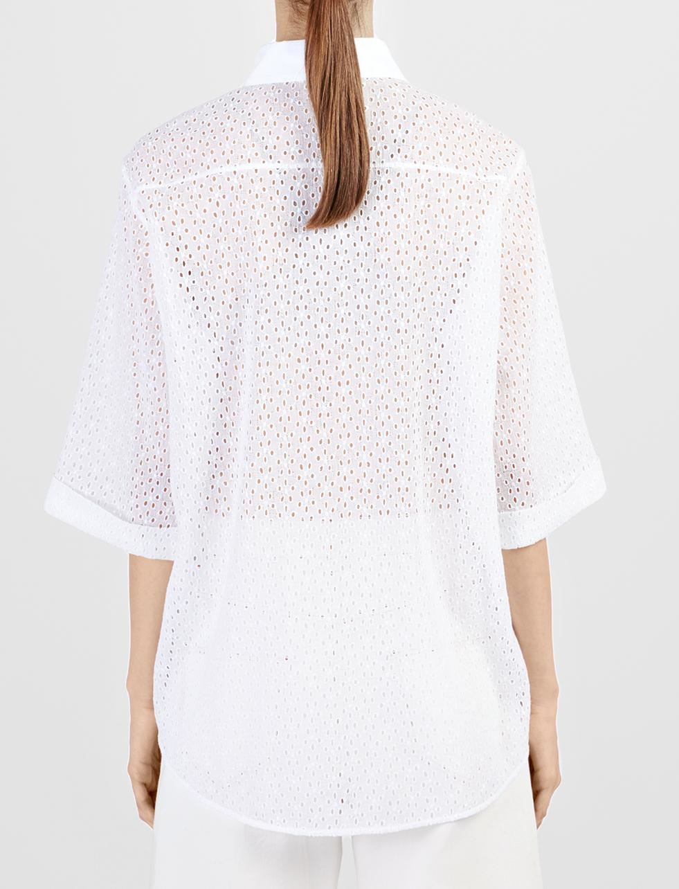 Joseph Anglaise Embroidery Maisie Blouse In Black  Lyst