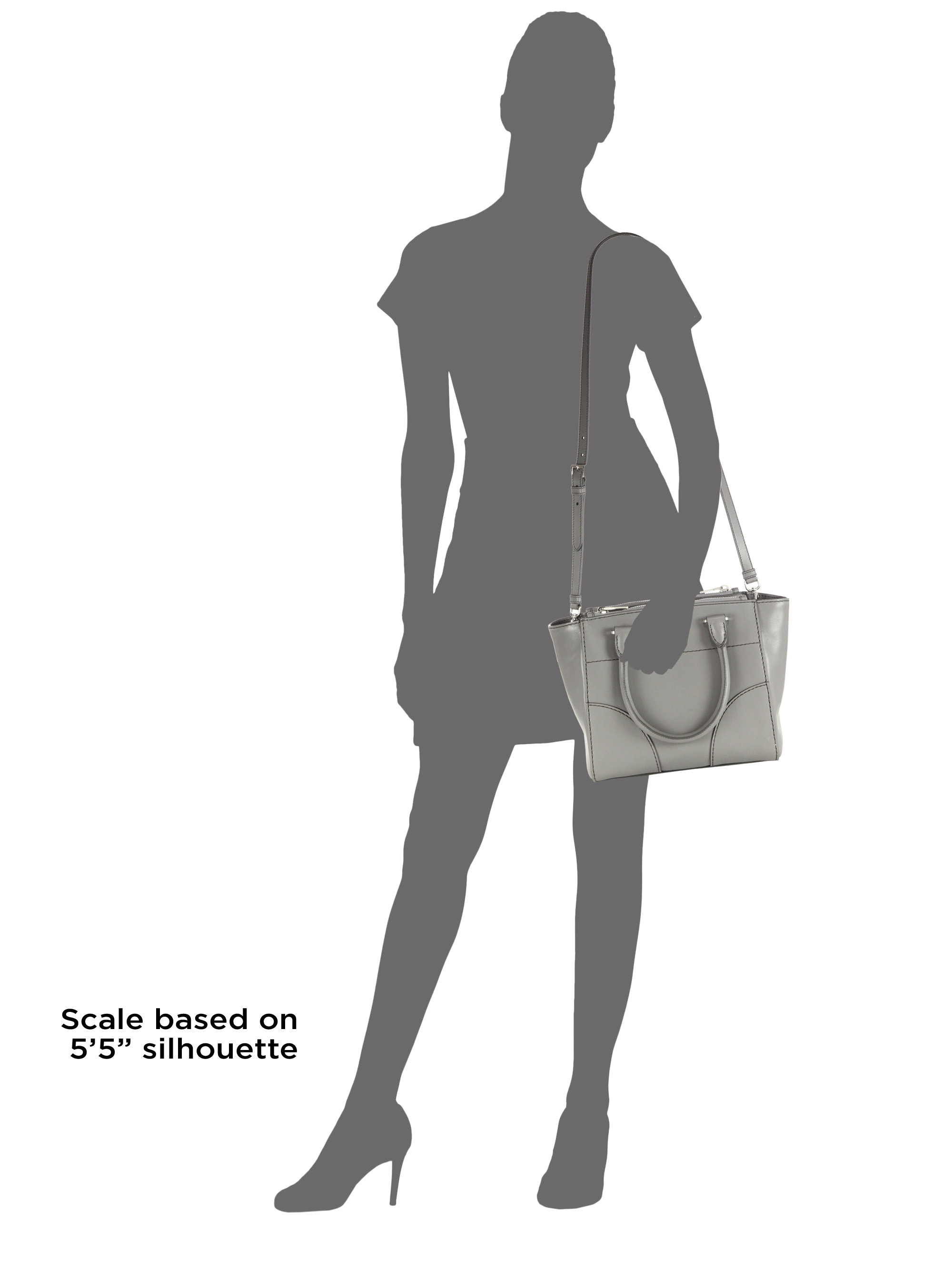 4d53b9d662af ... where to buy lyst prada city calf twin pocket tote in gray f54e6 2e274