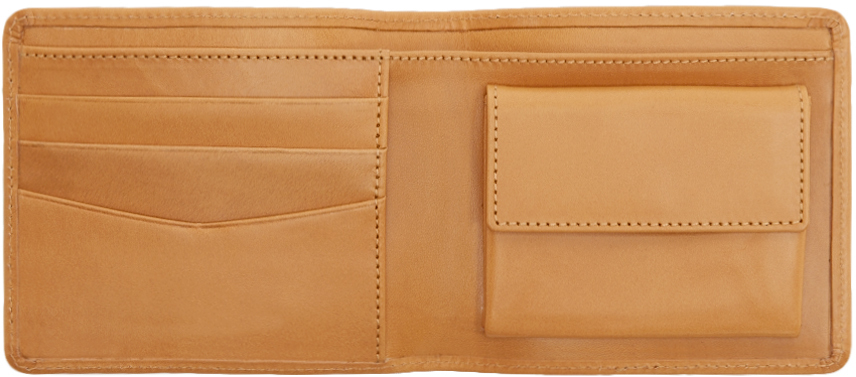 A.P.C London Leather Billfold Wallet Free Shipping Cheapest ogxAmsToF