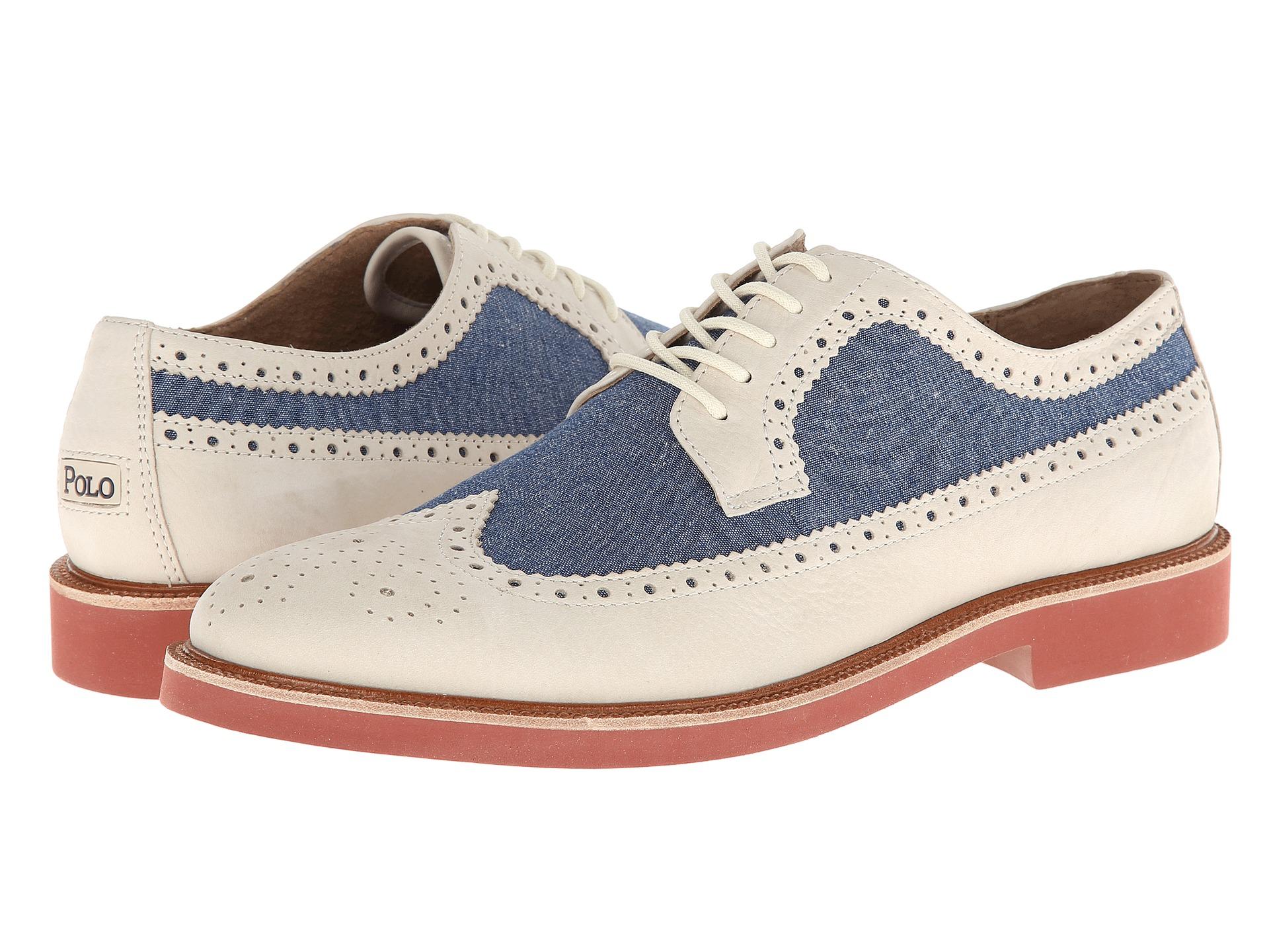 polo ralph lauren shoes torrington wingtip oxfords