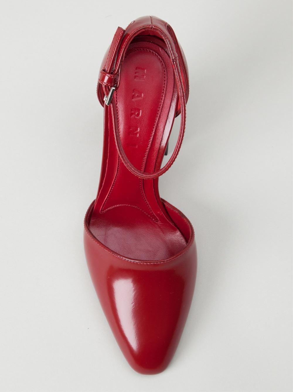Lyst Marni Mary Jane Pumps In Red