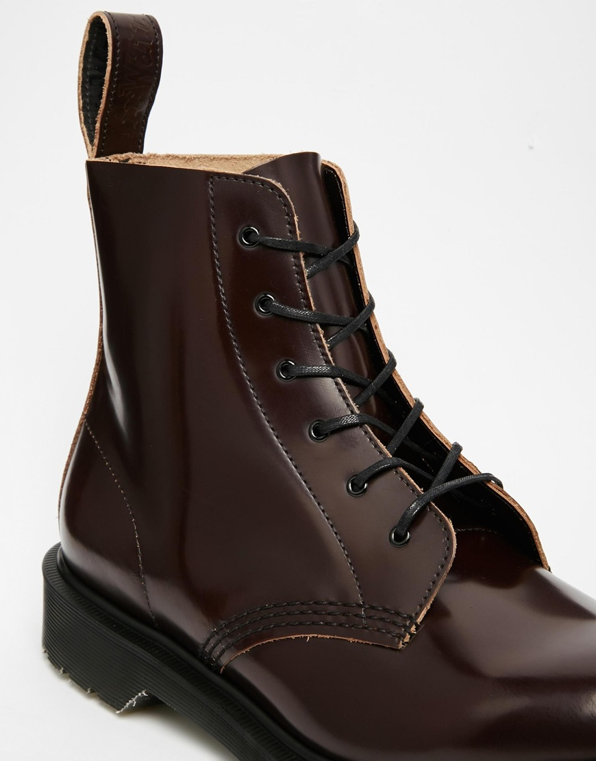 Lyst Dr Martens Made In England Arthur Boots In Purple