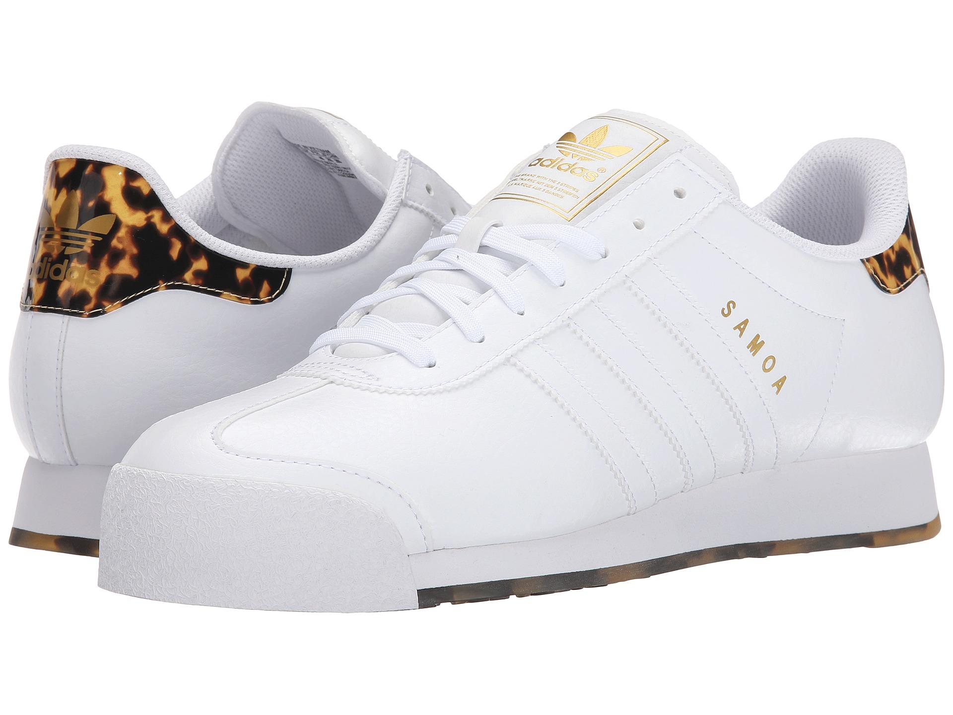 Lyst - adidas Originals Samoa - Tortoise Shell in White 4016ea3a4
