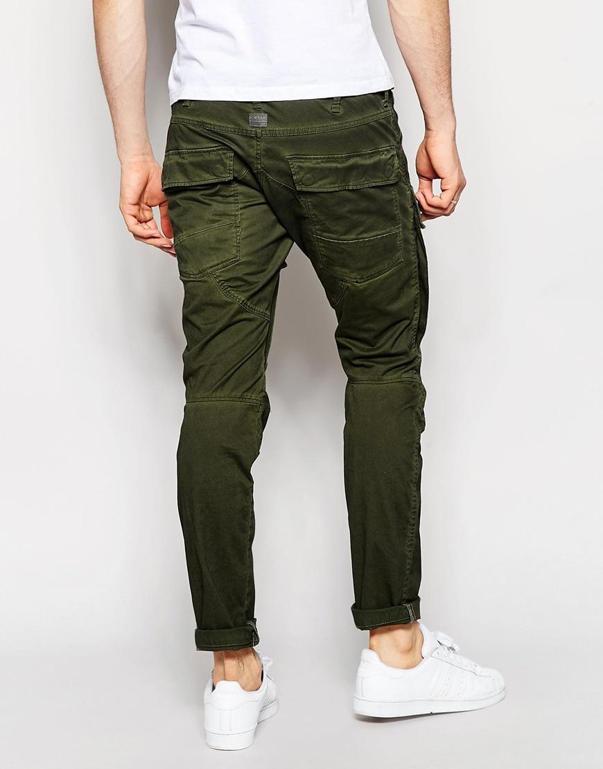 g star raw cargo trousers air defence elwood 5620 3d slim. Black Bedroom Furniture Sets. Home Design Ideas