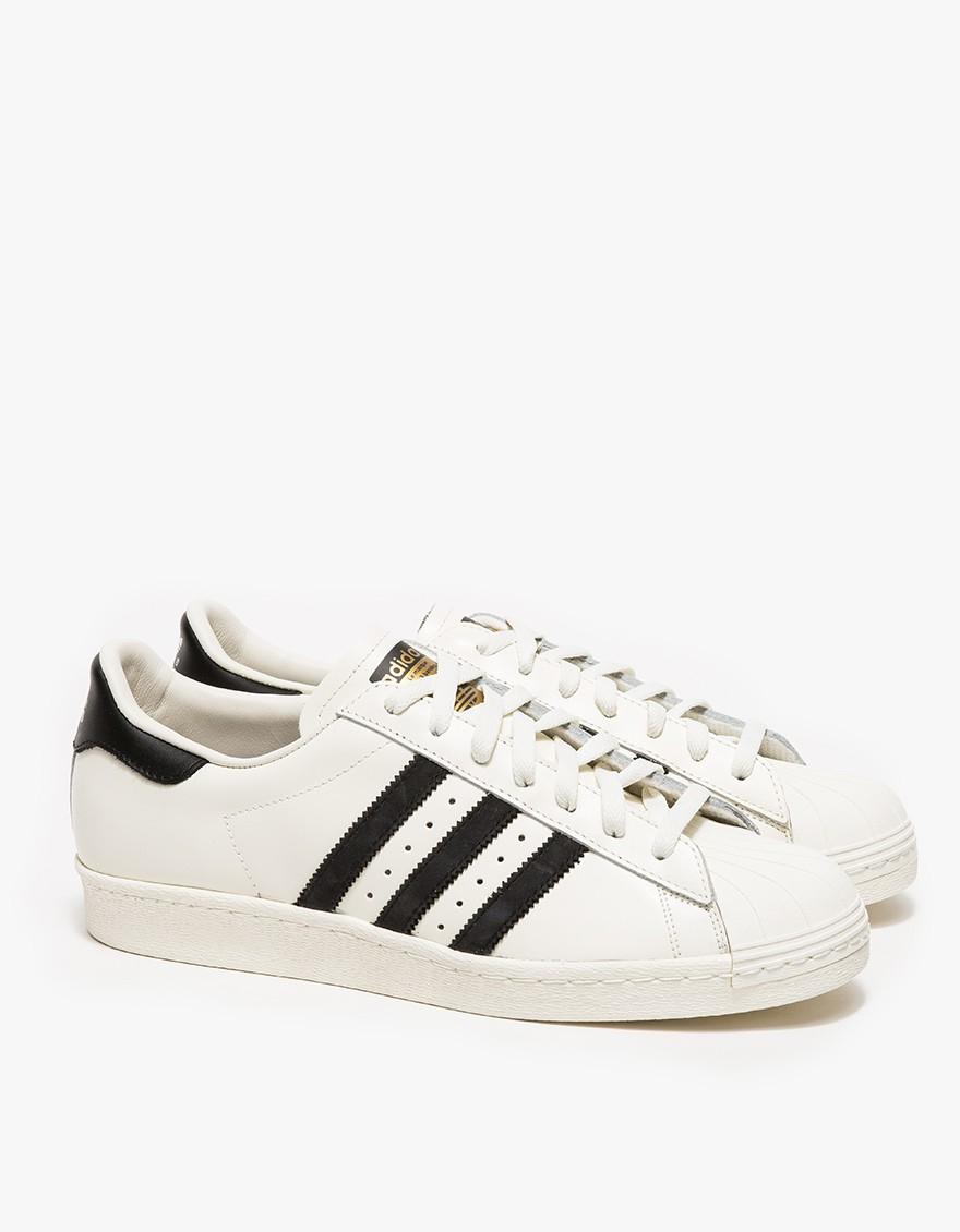 Lyst adidas superstar degli anni ottanta vintage deluxe in bianco per gli uomini.