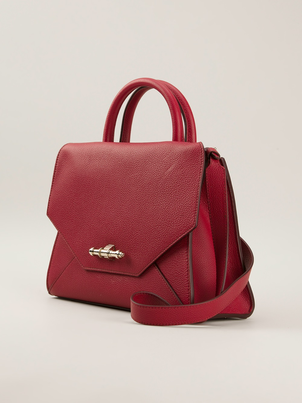 78244806cb Lyst - Givenchy Obsedia Tote in Red
