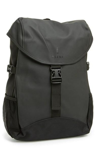 Lyst - Rains 'runner' Waterproof Backpack in Black for Men
