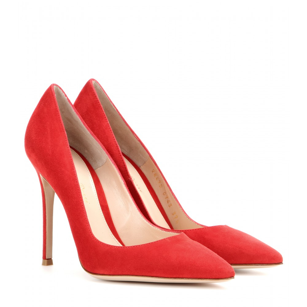 Buy Red Suede Shoes