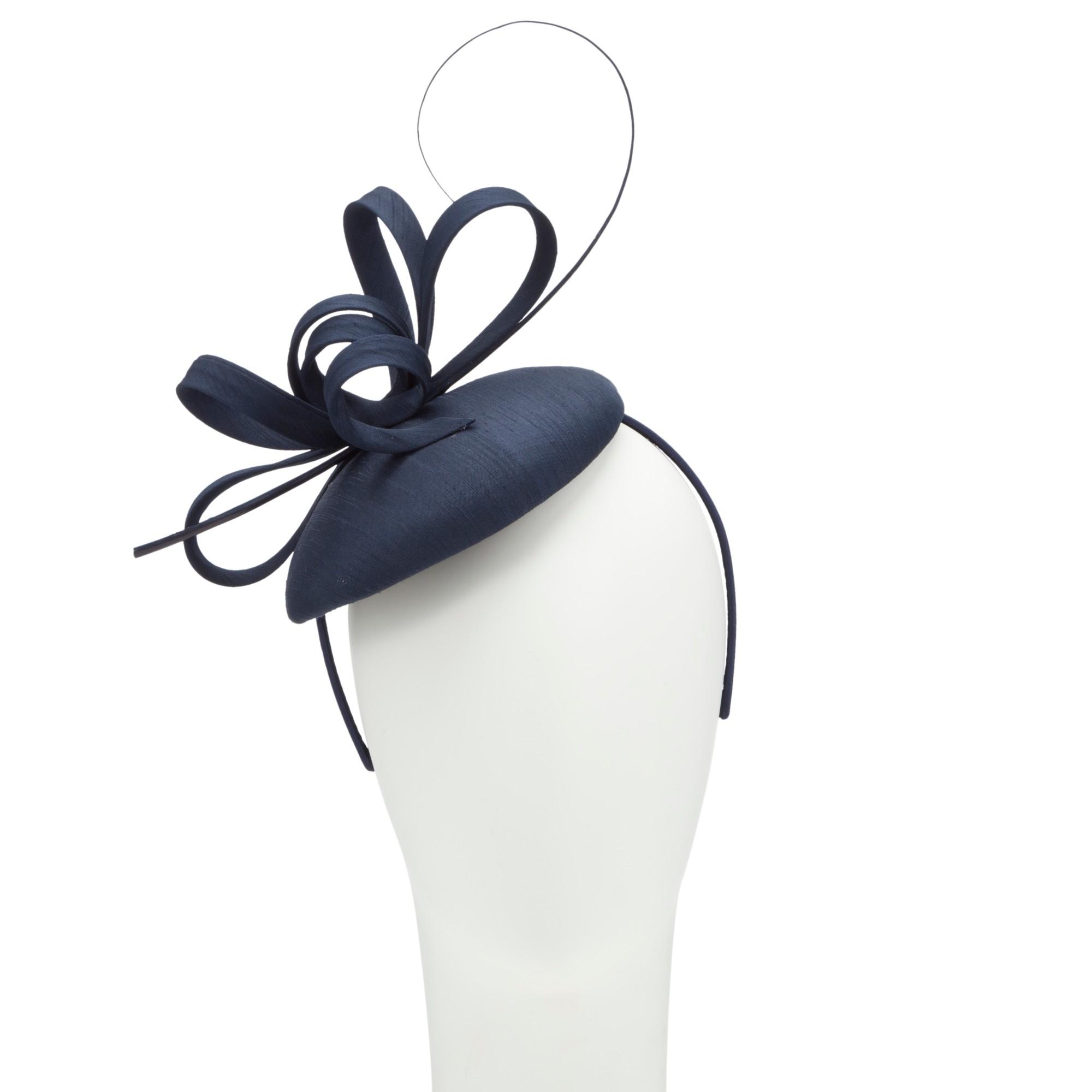 John Lewis Kiki Shantung Pillbox Hat Fascinator in Blue - Lyst 3a9f20d4db9