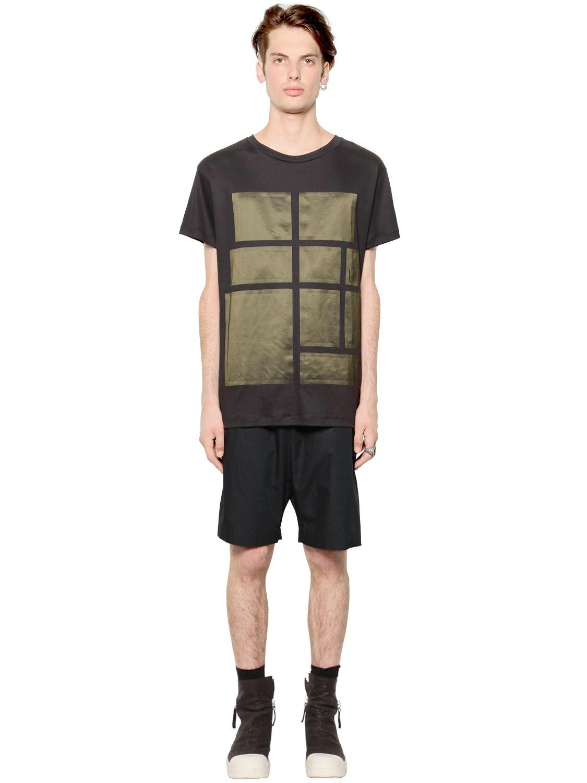 Black Nylon Shirt 61