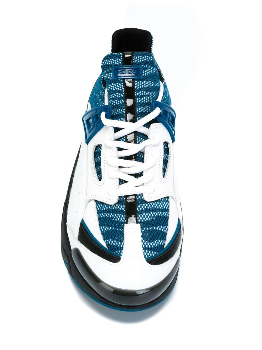 feedf4ec70f89 KENZO 'sonic' Sneakers in White for Men - Lyst