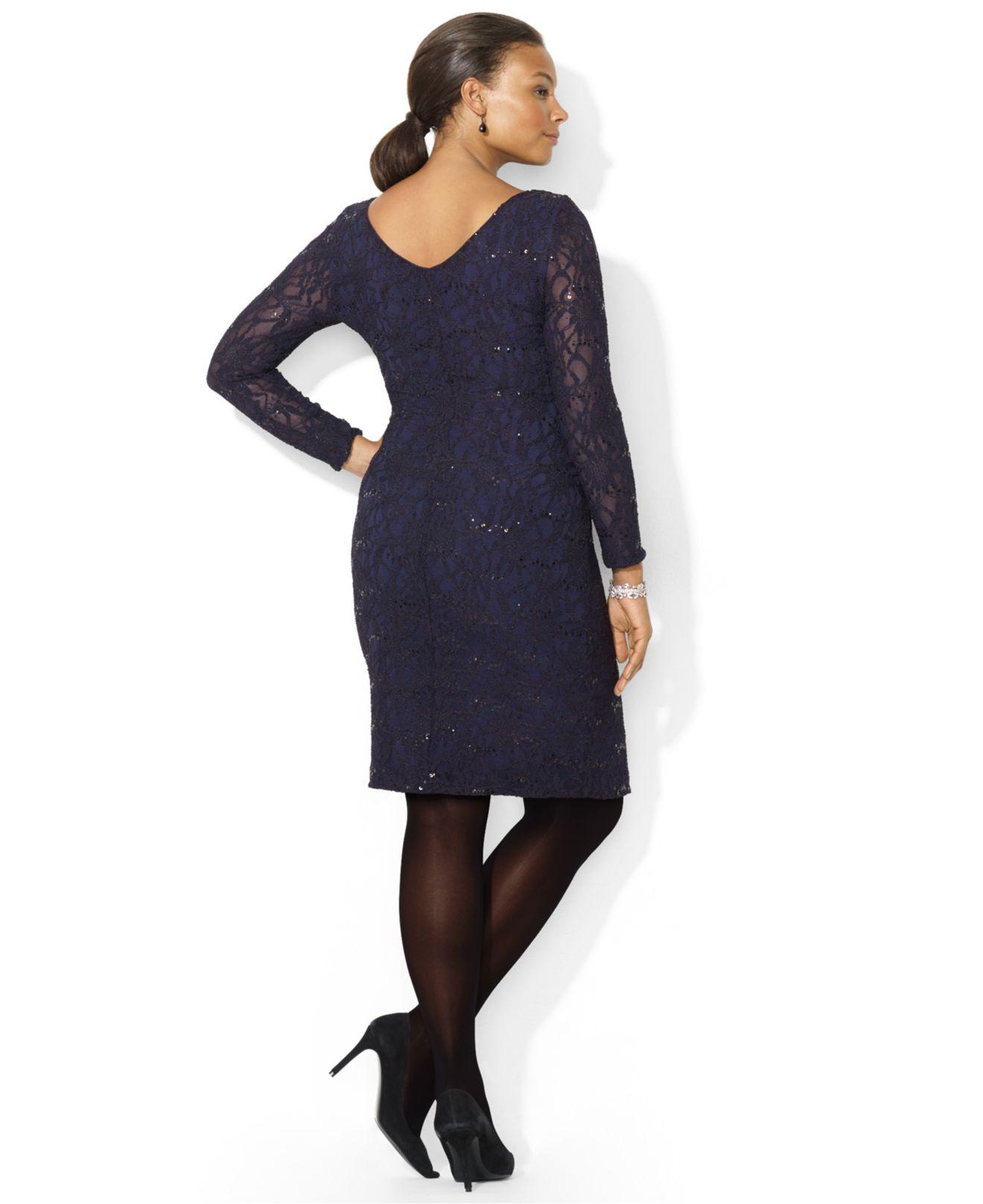 Plus long dress ralph