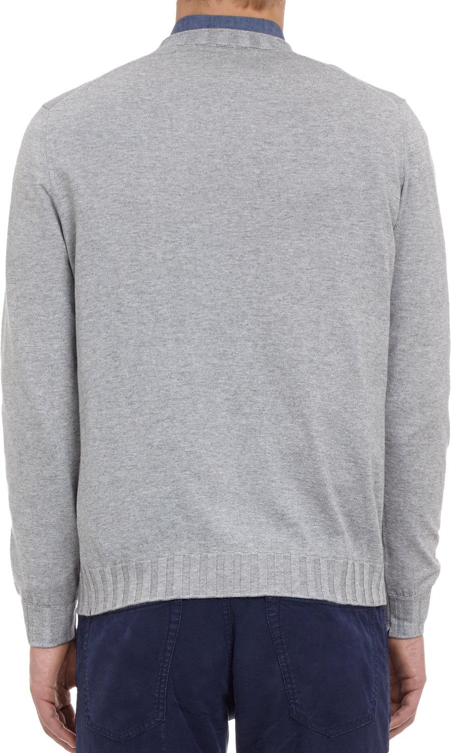 Fioroni Pullover Sweater in Gray for Men