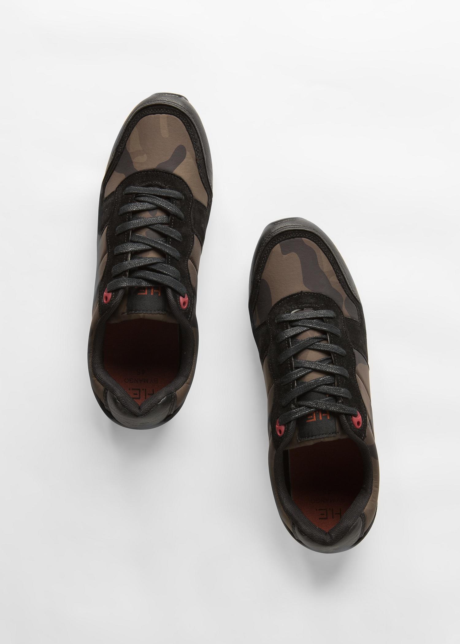 MANGO Camo-print sneakers dieG6C