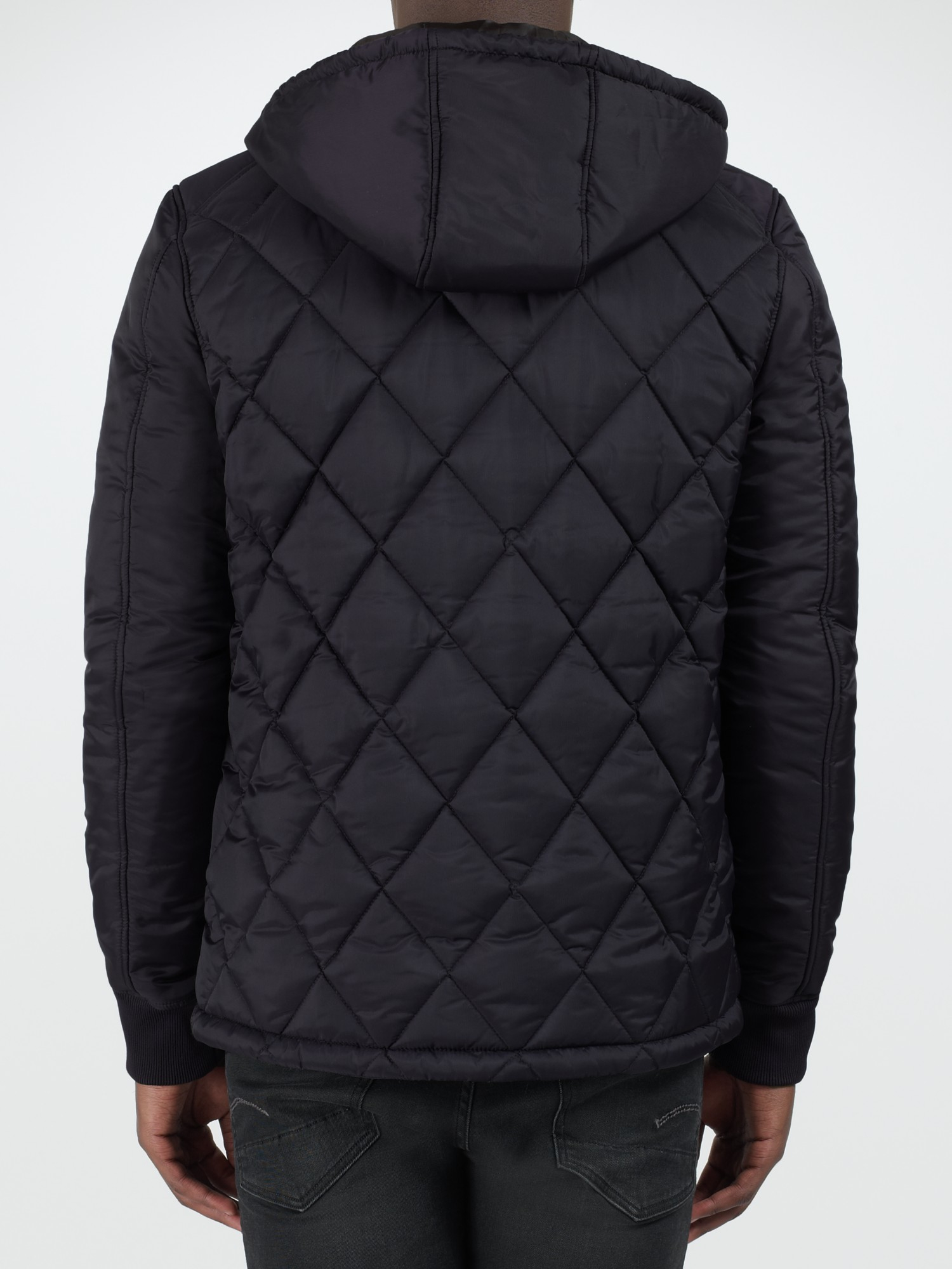 246609b04de G-Star RAW Fibrick Hooded Jacket in Black for Men - Lyst