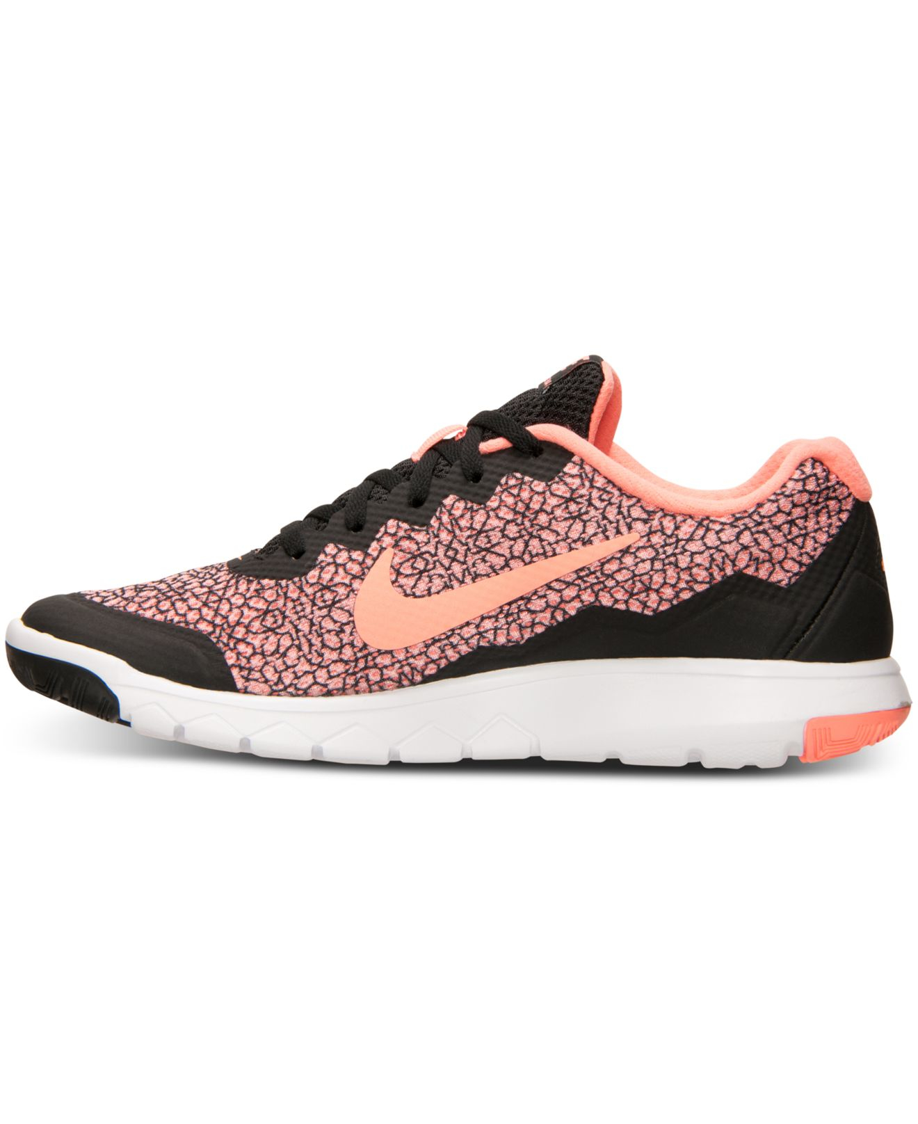 Lyst - Nike Women s Flex Experience Run 4 Premium Running Sneakers From  Finish Line in Pink 6338ab6e8