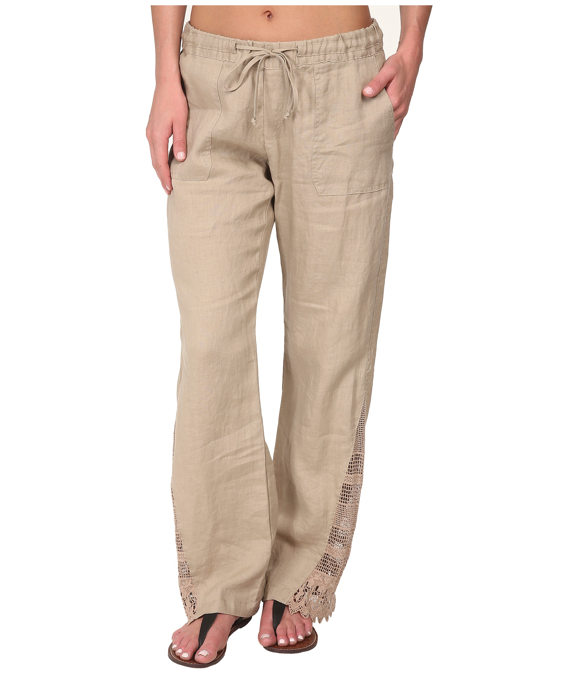 Outseam Measurement La Blanca Linen Pants ...