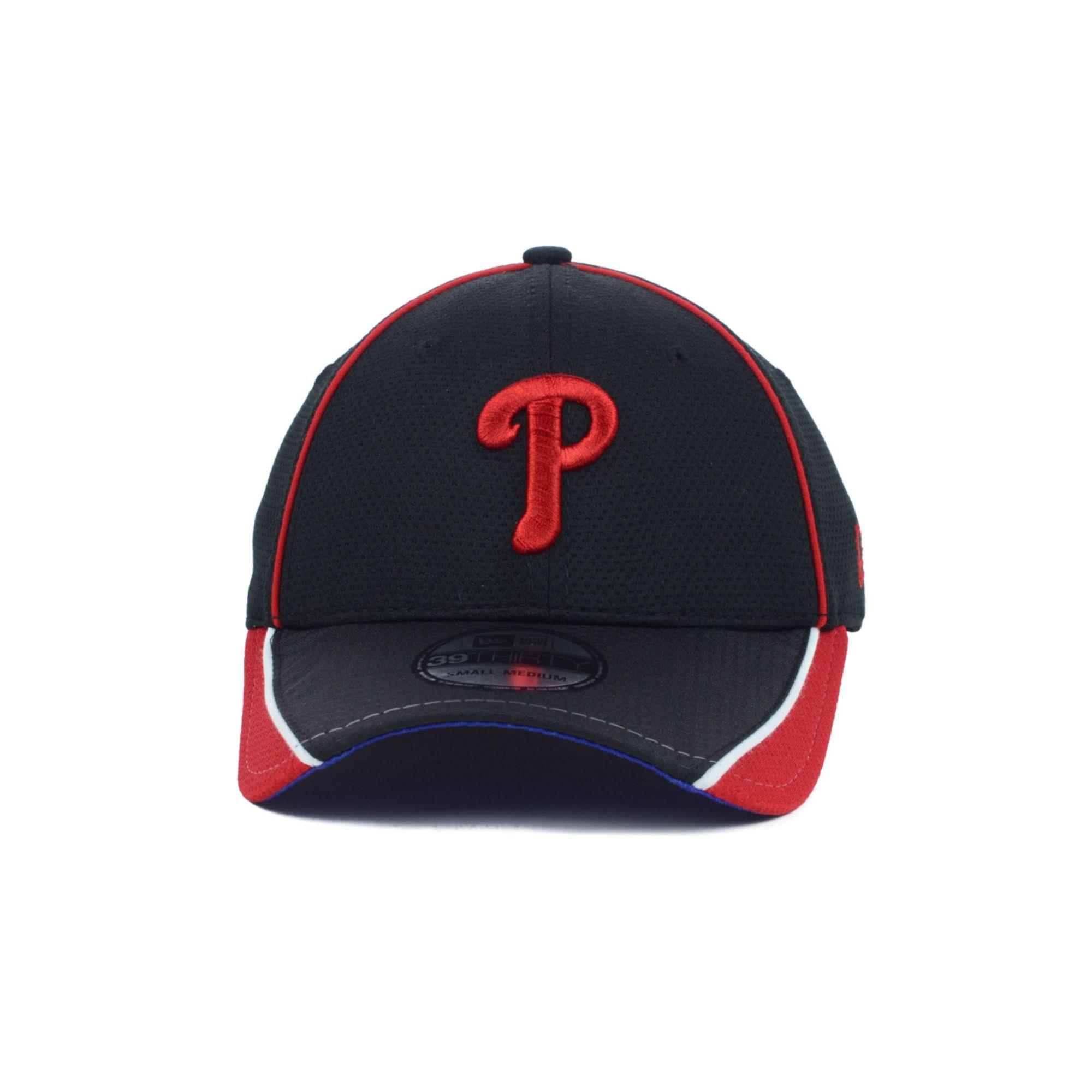 Lyst - Ktz Philadelphia Phillies Mlb Pipe Slide 39thirty Cap in Red ... f7c297ad1b5b