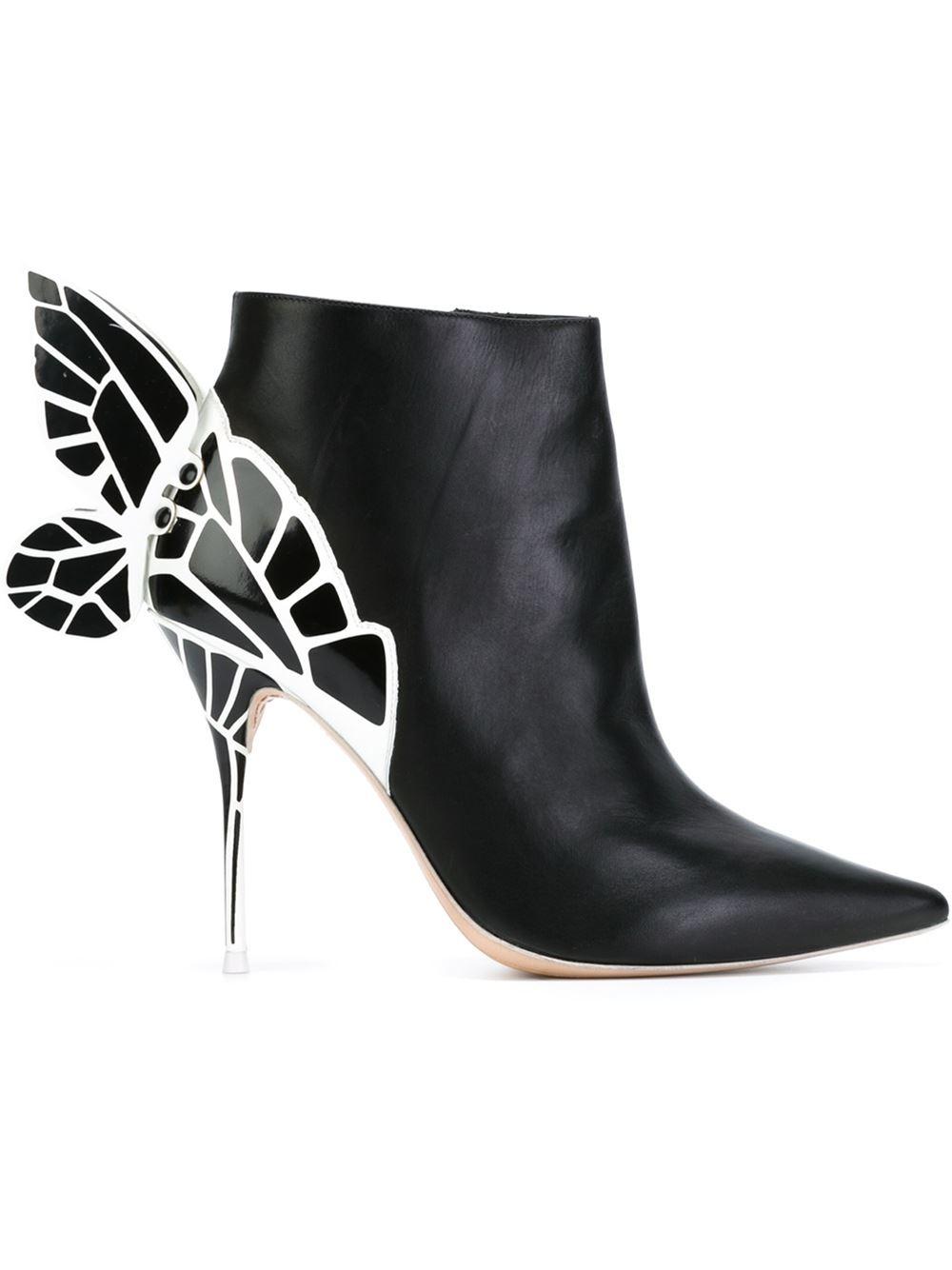 Lyst Sophia Webster Chiara Boots In Black
