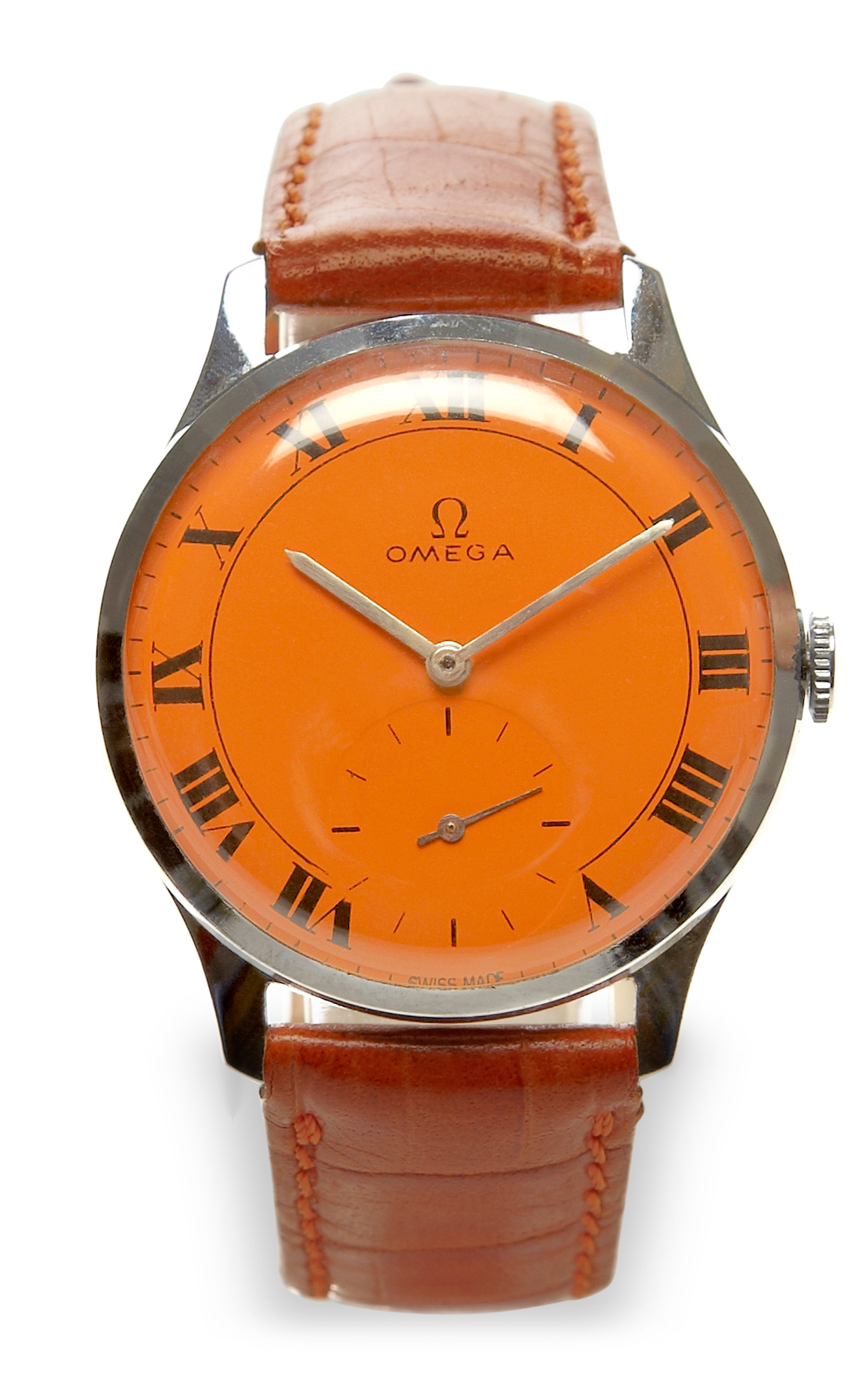 Cmt fine watch and jewelry advisors Orange Painted Face ...