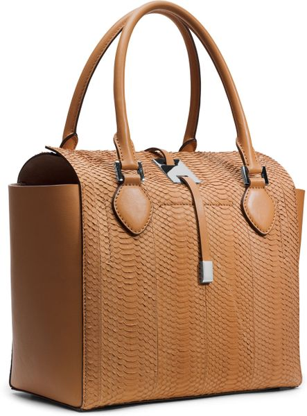 Reduced Michael Kors Miranda Totes - Bags Michael Kors Miranda Novelty Tote Peanut 1
