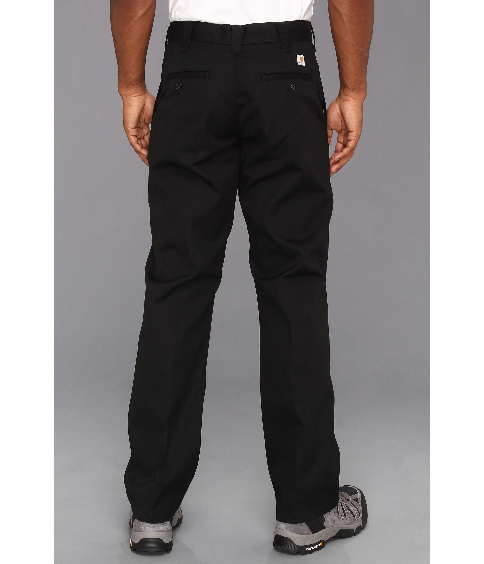 Carhartt Twill Work Pant in Black for Men | Lyst