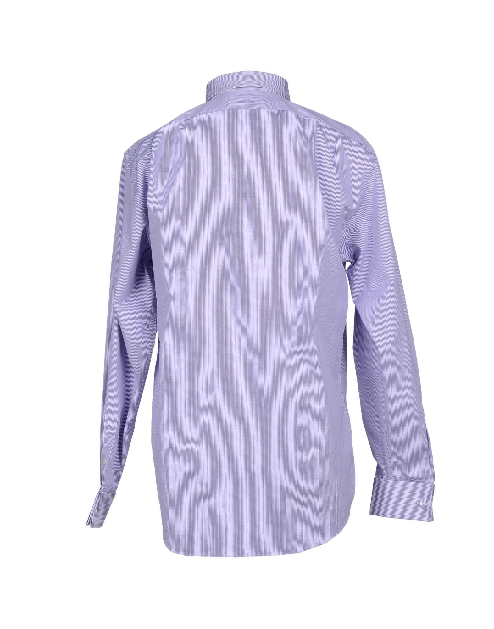 Lyst ralph lauren black label shirt in purple for men for Black ralph lauren shirt purple horse