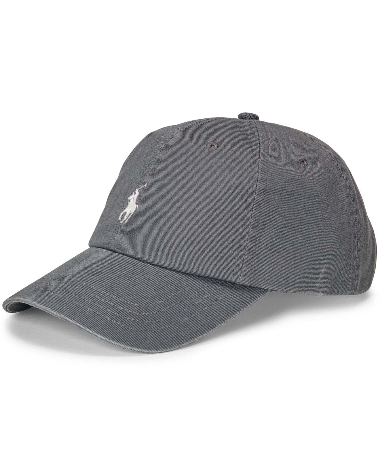 polo ralph lauren classic chino sports cap in gray for men. Black Bedroom Furniture Sets. Home Design Ideas