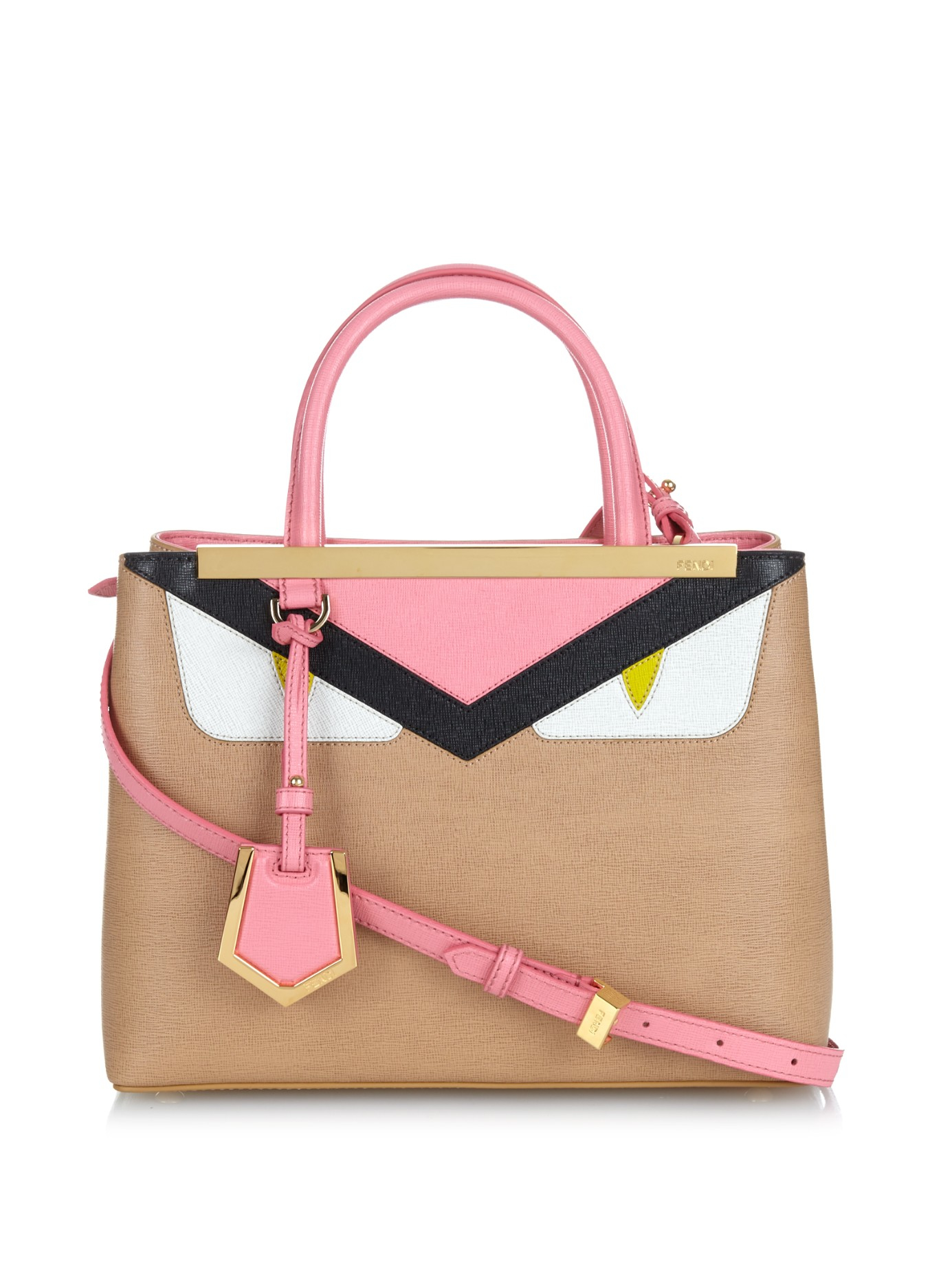 53d097450ef3 ... wholesale gallery. previously sold at matchesfashion womens fendi bag  bugs womens fendi 2jours 86251 ac421