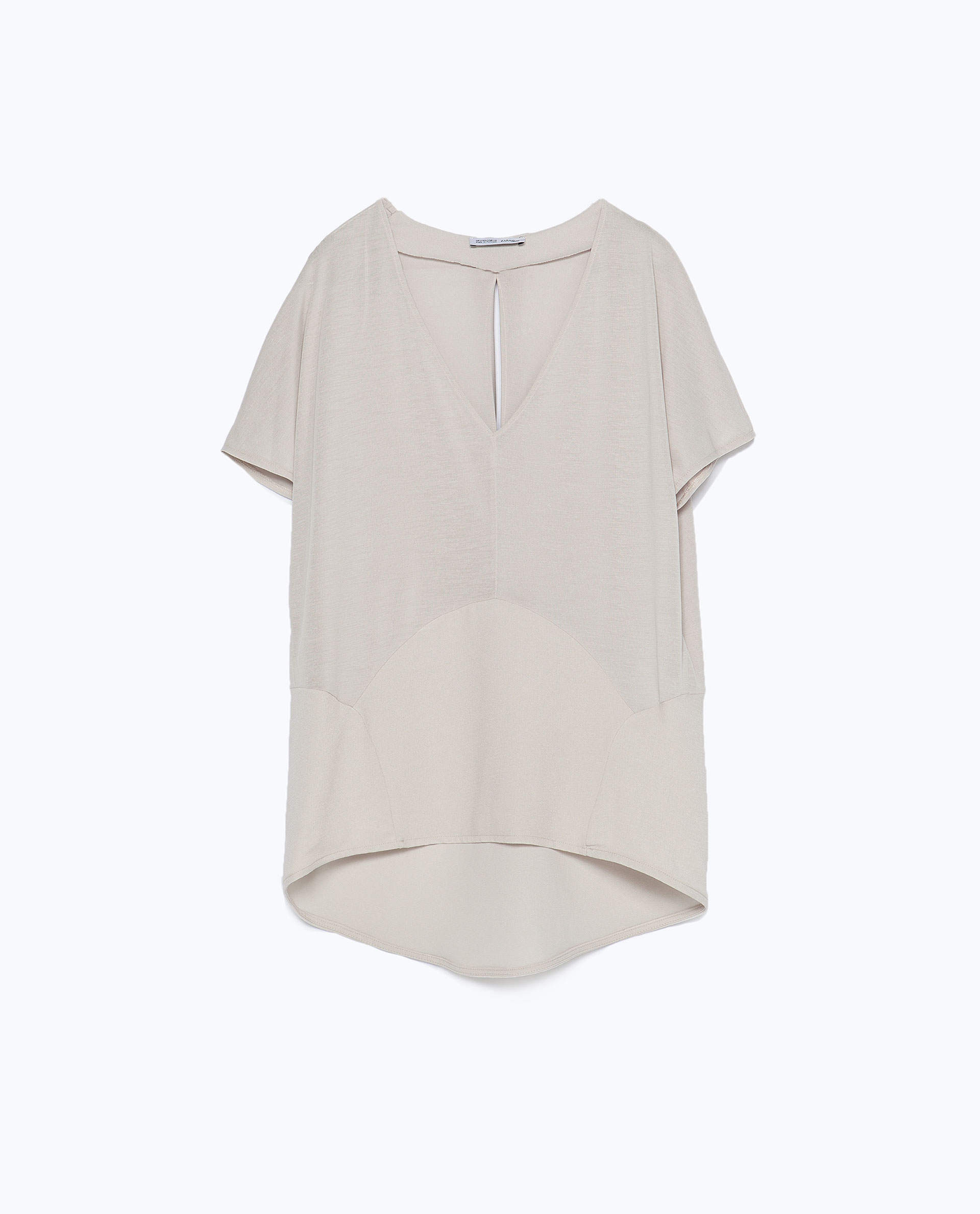 Zara Shirt Style Blouse 10
