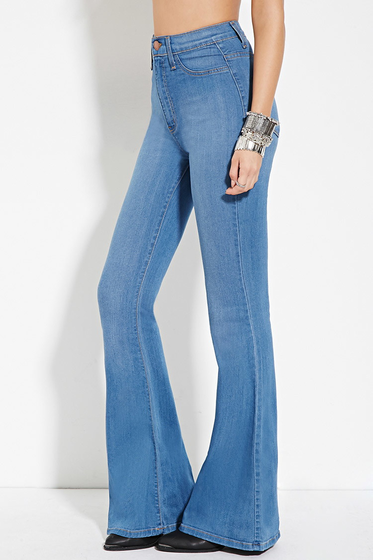 High waisted bootcut jeans forever 21